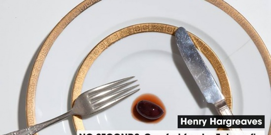 Henry Hargreaves: No Seconds, Comfort Food e Fotografia