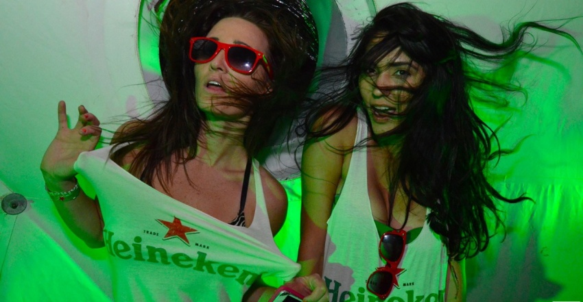 Heineken Night al Mixer Cafè